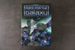 Cover des Brettspiels Race of Galaxy